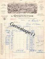 75 26813 PARIS SEINE 1931 Celluloid L OYONNITHE - L'OYONNITHE Usine A Monville Villeurbanne Saint Mande - 1900 – 1949