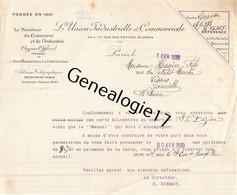 75 26822 PARIS SEINE 1930 L UNION INDUSTRIELLE ET COMMERCIALE Rue Des Petites Ecuries  Signe Mr BONNAY H. - 1900 – 1949