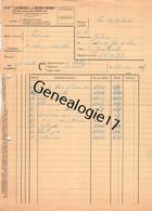 75 26836 PARIS SEINE 1955 Brosserie LA BROSSE Et J. DUPONT Rue Leon Jost USINE A BEAUVAIS RENNES NOGENT SUR SEINE - 1900 – 1949