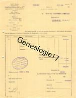 75 26839 PARIS SEINE 1934 Ste LACAUSSADE Cie Rue J. J. Rousseau Dest CHARTOIRE STEPHAN Epicerie De COMBRONDE - 1900 – 1949