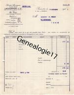 75 26840 PARIS SEINE 1928 Ste LACAUSSADE Cie Rue J. J. Rousseau Dest MONAT - 1900 – 1949