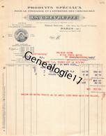 75 26844 PARIS SEINE 1930 Produits LA CHEVRETTE Entretien Chaussures Rue Fbg Saint Denis USINE A VILLENEUVE LA GARENNE - 1900 – 1949