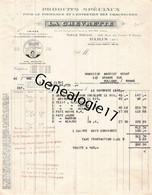 75 26845 PARIS SEINE 1930 Produits LA CHEVRETTE Rue Fbg Saint Denis USINE A VILLENEUVE LA GARENNE Dest Andriot Verot - 1900 – 1949