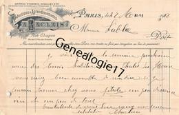 75 26847 PARIS SEINE 1918 Reductions Agrandissements A. LACLAIS Rue Chapon ( Photographe Ptotographie ) - 1900 – 1949