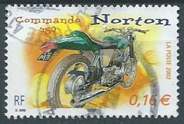 FRANKREICH FRANCIA  FRANCE 2002 MOTORCYCLE NORTON 750 USED YT 3511 MI 3648  SC 2913d  SG 3853 - Usati