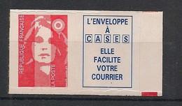 France - 1993 - N°Yv. 2807a - Marianne De Briat TVP + Vignette - Neuf Luxe ** / MNH / Postfrisch - Ungebraucht