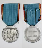 Médaille-BE-418-II_O.N.A.C.-N.W.O.S._association Nationale D'anciens Combattants_1914-1918_1940-1945_WW1_WW2_argent_21-1 - Belgien