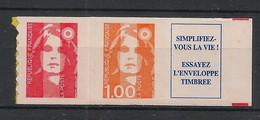 France - 1996 - N°Yv. 3009b - Marianne De Briat 1fr + TVP + Vignette - Neuf Luxe ** / MNH / Postfrisch - Ungebraucht