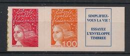 France - 1997 - N°Yv. 3101b - Marianne De Luquet 1fr + TVP + Vignette - Neuf Luxe ** / MNH / Postfrisch - Ungebraucht
