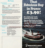 """Hoverlloyd - Hovercraft - """"That Fabulous Day In France..."""" - Europa"""
