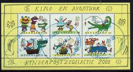 Niederlande 2000, MiNr 1826-1031, Block 67, Gestempelt - Oblitérés