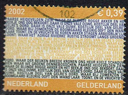 Niederlande 2002, MiNr 2001, Gestempelt - Oblitérés