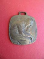 """Guerre 1914-1918 Médaille Signée O.Yencesse """" Pour Nos Prisonniers """" 1916 - Oiseau Colombe - Frankreich"""
