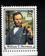 1373684858 1995 (XX) SCOTT 2975 Q POSTFRIS MINT NEVER HINGED POSTFRISCH EINWANDFREI  CIVIL WAR WILLIAM T SHERMAN - Ungebraucht