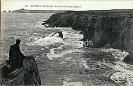 Quiberon - Rochers De La Mer Sauvage - 231 - Old Postcard - France - Unused - Quiberon