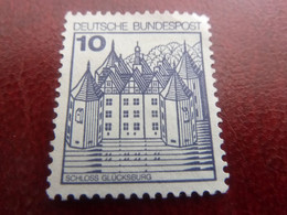 Scholss - Glucksburg - Val 10 - Bleu-violet - Non Oblitéré - Année 1984 - - Ungebraucht