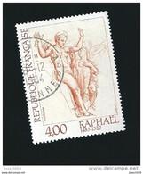 N° 2264 Vénus Et Psyché Oeuvre De Raphaël Timbre France Oblitéré 1983 - Gebraucht