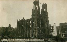 SAN FRANCISCO JUDAICA SYNAGOGUE JEWISH HOW THE EARTHQUAKE N°3246 - Jewish