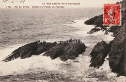 Ile De Groix - Rochers Et Pointe De Pen Men - La Bretagne Pittoresque - 7112 - Old Postcard - 1911 - France - Used - Groix