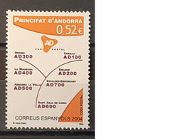 2004 - Andorra (Spanish) - MNH - Postal Code - Complete Set Of 1 Stamp - Ungebraucht