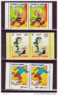 France 3226A 3304A 3371A Astérix  Tintin Lagaff De Carnet 1999 2000 Fête Du Timbre Neuf ** TB MNH Cote 15 - Ungebraucht