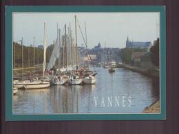 VANNES VUE GENERALE SUR LE PORT DE PLAISANCE 56 - Vannes