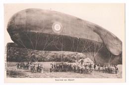 """Carte Postale Aviation 1920-1925 """" Saucisse Au Départ """" - Materiaal"""
