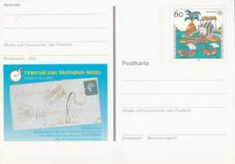 ALLEMAGNE RFA ENTIER CARTE ILLUSTE -  SALON MARCOPHILE DE ESSEN 1992 - Bildpostkarten - Ungebraucht