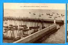 PRO189, Belle Isle En Mer, Entrés Du Port, 2331, Circulée 1933 - Belle Ile En Mer