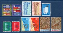 ⭐ Nations Unies - New York - YT N° 186 à 196 ** - Année Complète - Neuf Sans Charnière - 1969 ⭐ - Ungebraucht