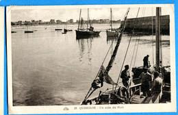 PRO192, Quiberon, Animée, Un Coin Du Port, 20 , Circulée - Quiberon
