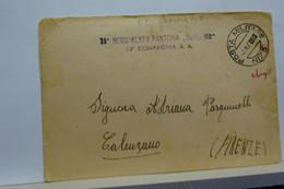 FRANCHIGIA  MILITARE  II  GUERRA  -  P.M.  73  --  OPERANTE IN JUGOSLAVIA --    DALMAZIA - Weltkrieg 1939-45