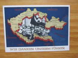 Wir Danken Unserem Führer Aussig 1938 - Weltkrieg 1939-45