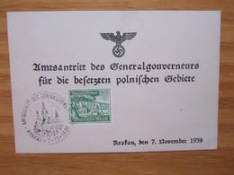 Krakau 1939 - Weltkrieg 1939-45