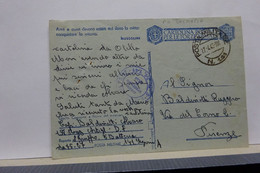 FRANCHIGIA  MILITARE  II  GUERRA  -  P.M.  141 --  OPERANTE IN JUGOSLAVIA --    DALMAZIA - Weltkrieg 1939-45