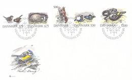 Denmark FDC 1994 Animals (DD33-34) - FDC