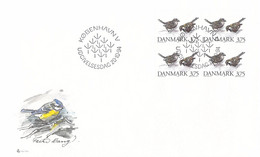 Denmark FDC 1994 Animals - Block Of Four (DD33-33) - FDC