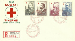 FINLANDIA (s) 448/51 En Sobre - Briefe U. Dokumente