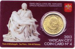 Vatican 0.50 Euro (coin Card) 2013 - Vatikan