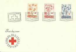 FINLANDIA (s) 477/9 En Sobre 1º Dia. - Briefe U. Dokumente