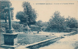 CPA - QUESTEMBERT - Le Lavoir Et La Fontaine St Martin - Questembert
