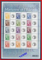 "2008 - Marianne Et L'Europe (de Beaujard) - Vignettes ""Cérès"" - Y&T N° F4226A - Neuf ** - Port Offert - Personalized Stamps"