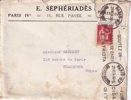 Cartes Postales & Mignonnettes E. Séphériadès 15, Rue Pavée IVe Arrt  - 1933 Lot De 4 Objets - 1900 – 1949