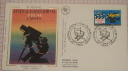 FDC France 1996 Cannes Film Festival - Briefe U. Dokumente