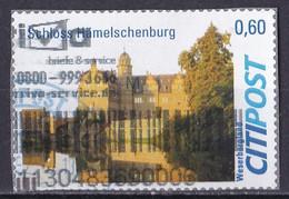 BRD Privatpost CITIPOST (60 Cent) Schloß Hämelschenburg (A1-23) - Private & Local Mails