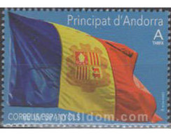 Ref. 597535 * MNH * - ANDORRA. Spanish Adm.. 2019. ANDORRAN FLAG . BANDERA ANDORRANA - Ungebraucht