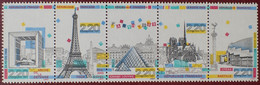 3116 - 1989 - PANORAMA DE PARIS - BANDE COMPLETE - N°BC2583A TIMBRES NEUFS** - Ungebraucht