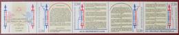 3118 - 1989 - BICENTENAIRE DE LA REVOLUTION - BANDE COMPLETE - N°B2605A TIMBRES NEUFS** - Ungebraucht