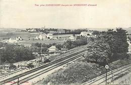 -dpts Div. -ref-AY151- Moselle - Avricourt Français Sur Avricourt Allemand - Lignes De Chemin De Fer - - Other Municipalities
