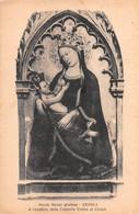 """10238 """"MARIA MATER GRATIAE - CEVOLI (PI)-A BENEFICIO DELLA CAPPELLA VOTIVA AI CADUTI"""" IMMAGINE RELIG. CART  SPED 1940 - Altri"""